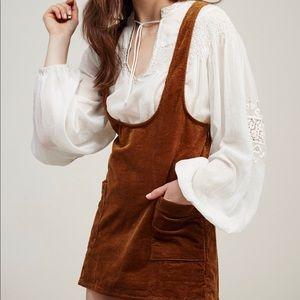 Brand New Free People Corduroy Dress